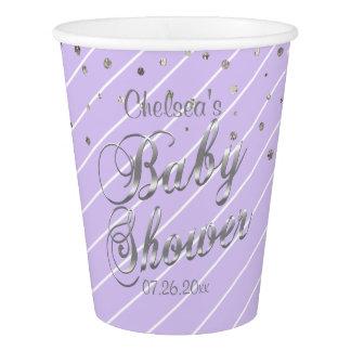 Mooie Lavendel en Zilver - Baby shower