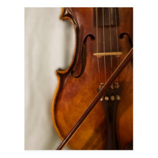 Mooie Muziek--Viool Briefkaart