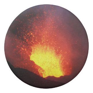 Mooie nacht vulkanische uitbarsting gum