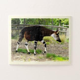 Mooie Okapi Legpuzzel