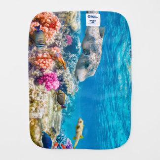 mooie onderwatervissenwereld, wather monddoekje