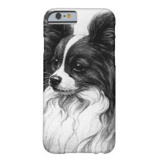 Mooie Papillon Hond I Telefoon 6 het Hoesje van de
