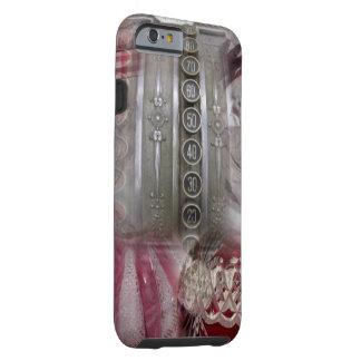 mooie Rode Taaie iPhone 6 van de Victoriaans Tough iPhone 6 Hoesje