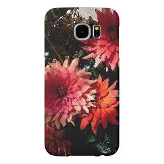 Mooie Roze Bloemen de telefoonhoesje van de Samsung Galaxy S6 Hoesje
