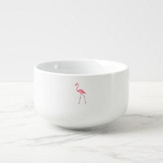 Mooie Roze Flamingo Soepkom