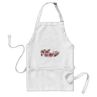 Mooie Roze Hibiscus Standaard Schort
