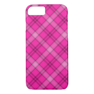 Mooie Roze Plaid iPhone 8/7 Hoesje