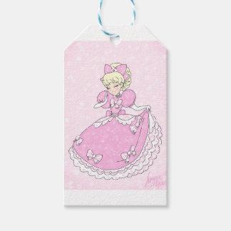 Mooie Roze Prinses Cadeaulabel