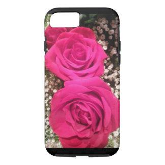 Mooie roze rozen iPhone 8/7 hoesje