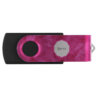 Mooie Roze Veren Swivel USB 3.0 Stick