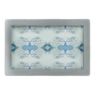 Mooie Schaduwen van Blauw in Modern Patroon Gesp