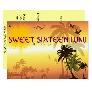 Mooie, Snoepje Zestien, Hawaiiaanse Uitnodiging