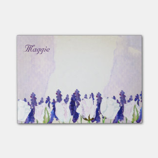Mooie Tulpen en Lavendel Post-it® Notes