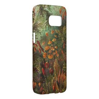 Mooie Vintage Bloemen Samsung Galaxy S7 Hoesje