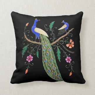 Mooie Vogels en Bloemen Sierkussen