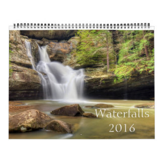 Mooie Watervallen Kalender