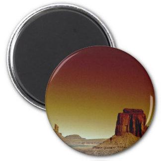 Mooie Zonsondergang: De Vallei van het monument, h Magneet
