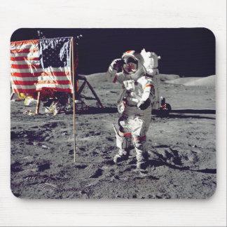 Moonwalk Apollo 17 Muismatten