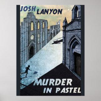 Moord in Pastelkleur Poster