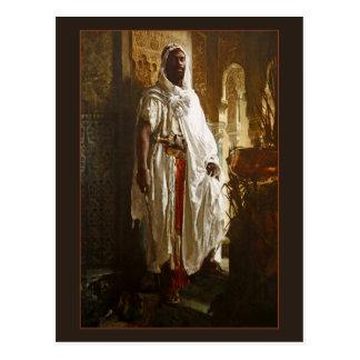 Moorse Leider door Eduard Charlemont Briefkaart