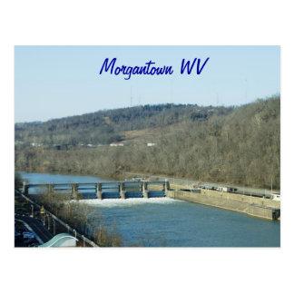 Morgantown WV Briefkaart