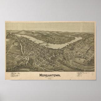 Morgantown, WV Poster
