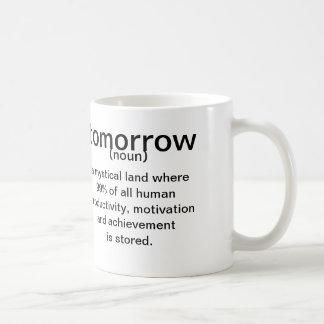 Morgen (zelfstandig naamwoord) een mystiek land koffiemok