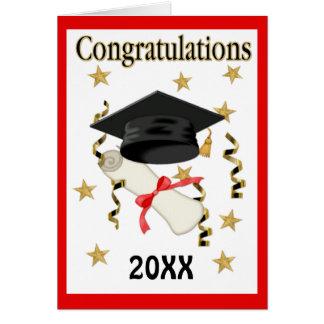 Mortier & Diploma 20XX - pas binnen aan Wenskaart