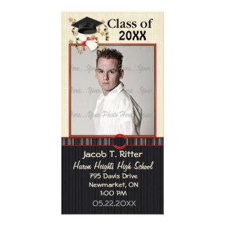 Mortier & Diploma - pas aan Fotokaart Sjabloon