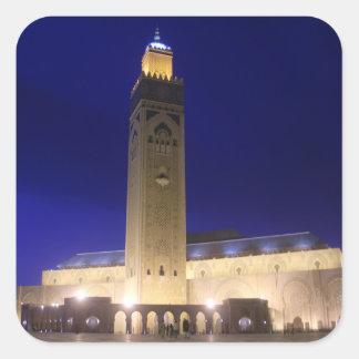 Moskee Vierkante Sticker