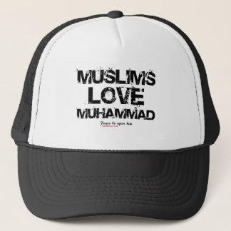 Moslims houden van Muhammad Trucker Pet