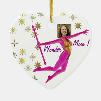 "Mother' s Day Ornament - Personalyze ""Wonder Mom """