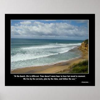 Motivatie Poster - het Leven bij het Strand