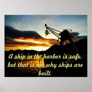 Motivatie Poster met ZeevaartThema
