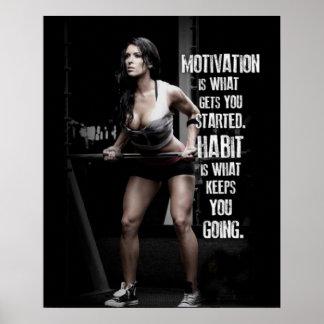 Motivatie training poster