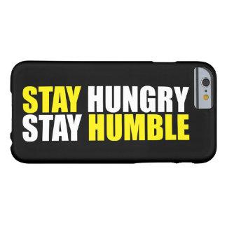 Motivatie Woorden - Hongerige het Verblijf, blijft Barely There iPhone 6 Hoesje
