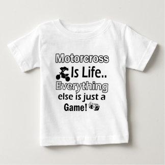 Motor-dwars giftpunten baby t shirts