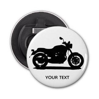 Motorfiets Button Flesopener