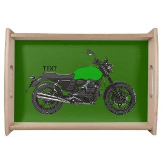 Motorfiets Dienblad