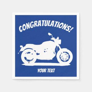 Motorfiets Papieren Servet