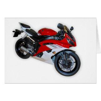 motorfiets wenskaart