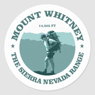 Mount Whitney Ronde Sticker