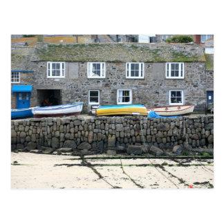 Mousehole, Cornwall, Engeland Briefkaart