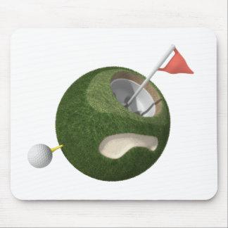 Mousemat | MiniPlaneet van het Golf Muismat