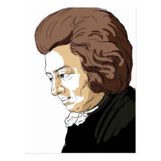 Mozart (Wolfgang Amadeus Mozart) Briefkaart
