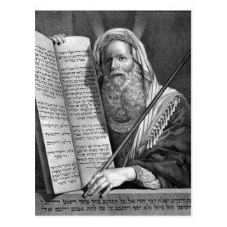 Mozes en de Tien Bevelen Briefkaart