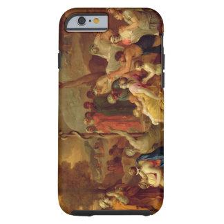 Mozes en het Koperachtige Serpent, c.1653-54 (olie Tough iPhone 6 Hoesje
