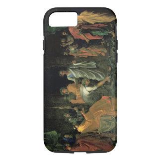 Mozes en het Koperachtige Serpent (olie op canvas) iPhone 7 Hoesje