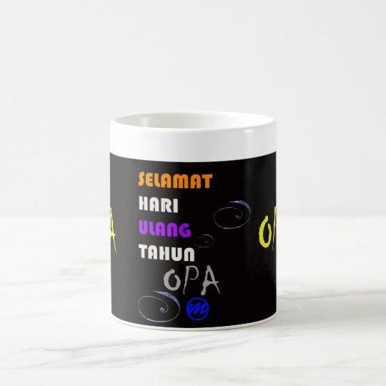 MR Opa Verjaardagsmok Koffiemok