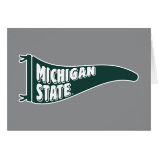 MSU Spartans | Universiteit van de Staat van Briefkaarten 0